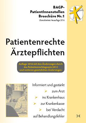 Patientenrechte - Ärztepflichten